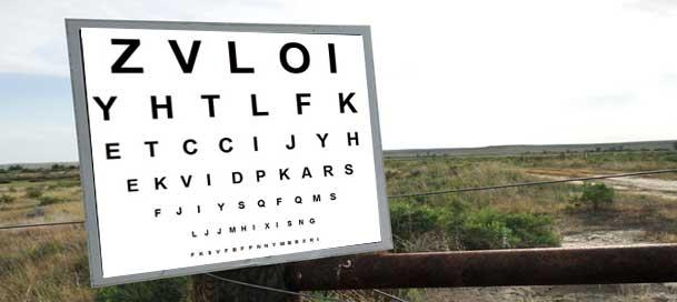 outdoor-eyechart